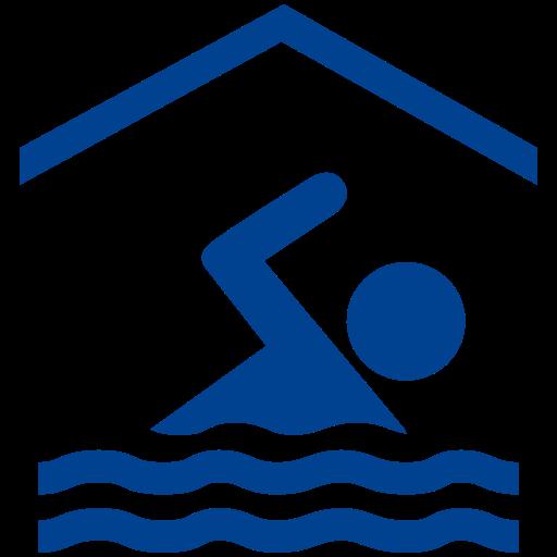 Logo Krytej Pływalni niebieskie